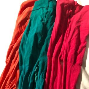 DKNY colored tights